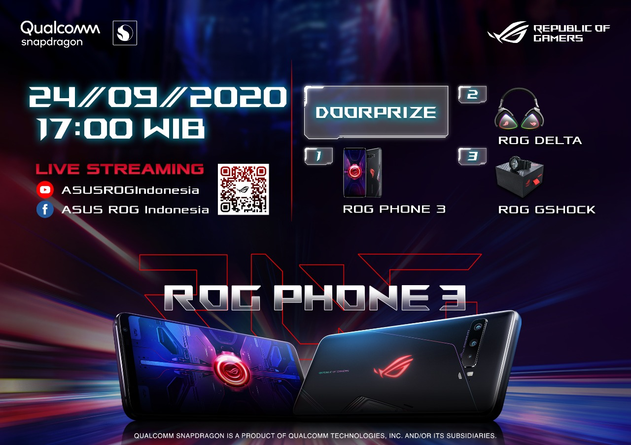 Invitation ASUS ROG Phone 3