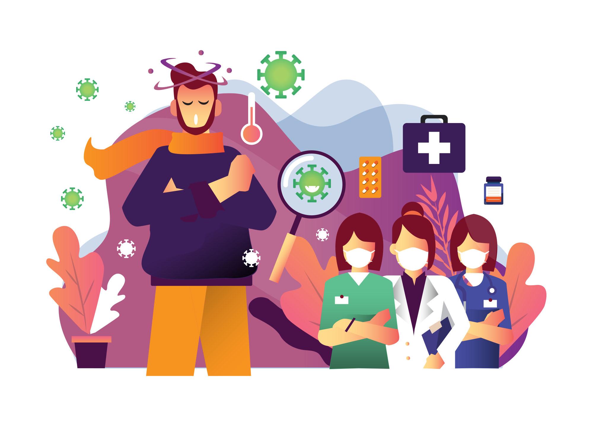 Pandemic Illustration