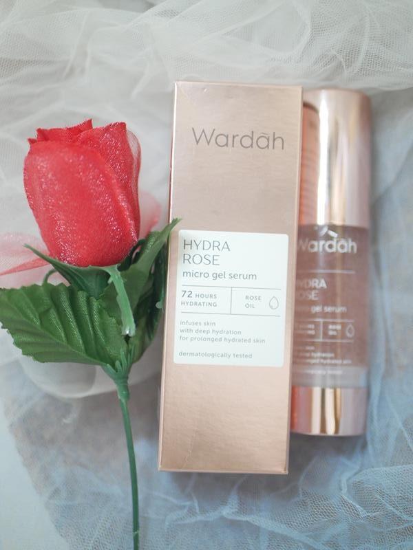 Wardah Hydra Rose Micro Gel Serum