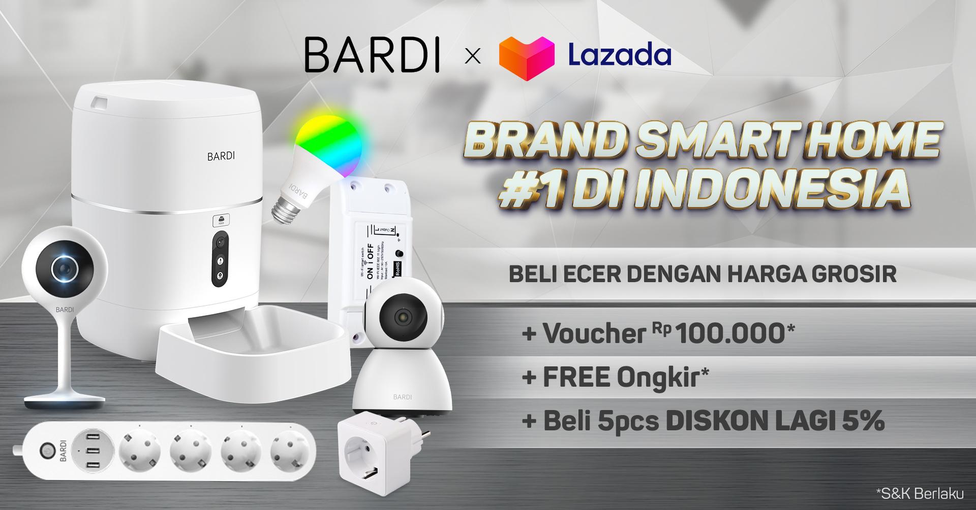 Lazada Bardi Smart Home