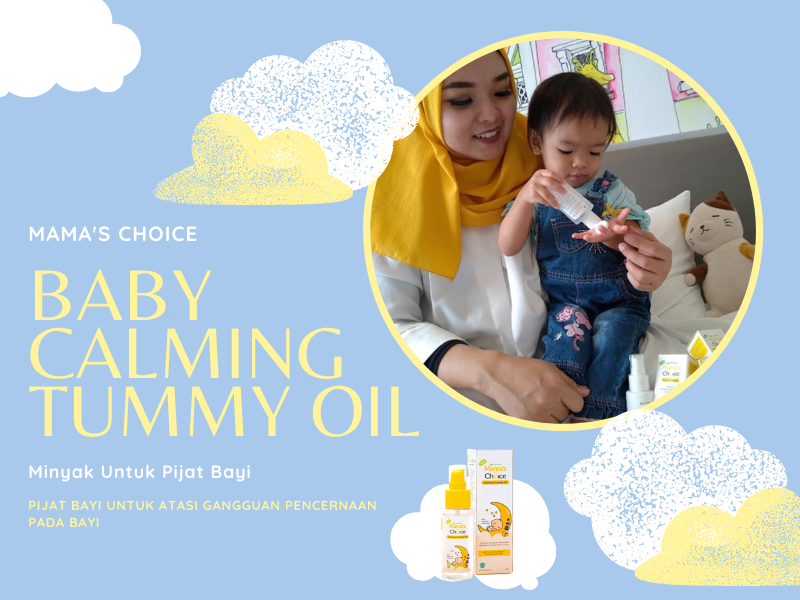Mama's Choice Baby Calming Tummy Oil