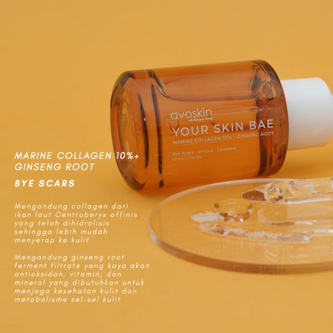Avoskin MARINE COLLAGEN 10% + GINSENG ROOT (Source by Avoskin)