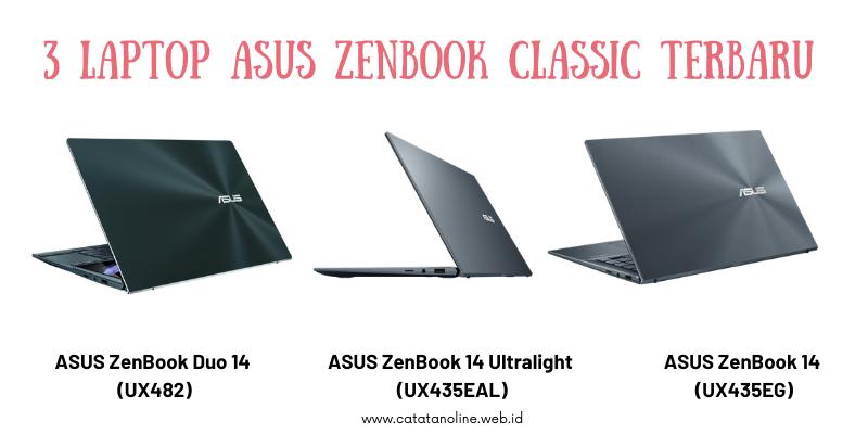 3 Laptop ASUS Zenbook Classic