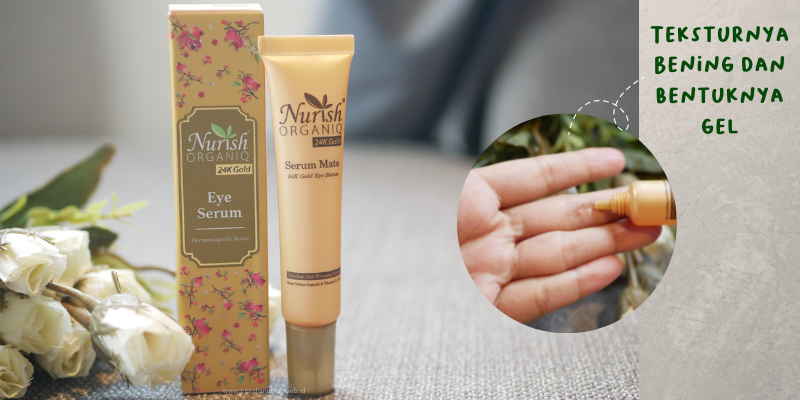 Nurish Organiq 24K Gold Eye Serum
