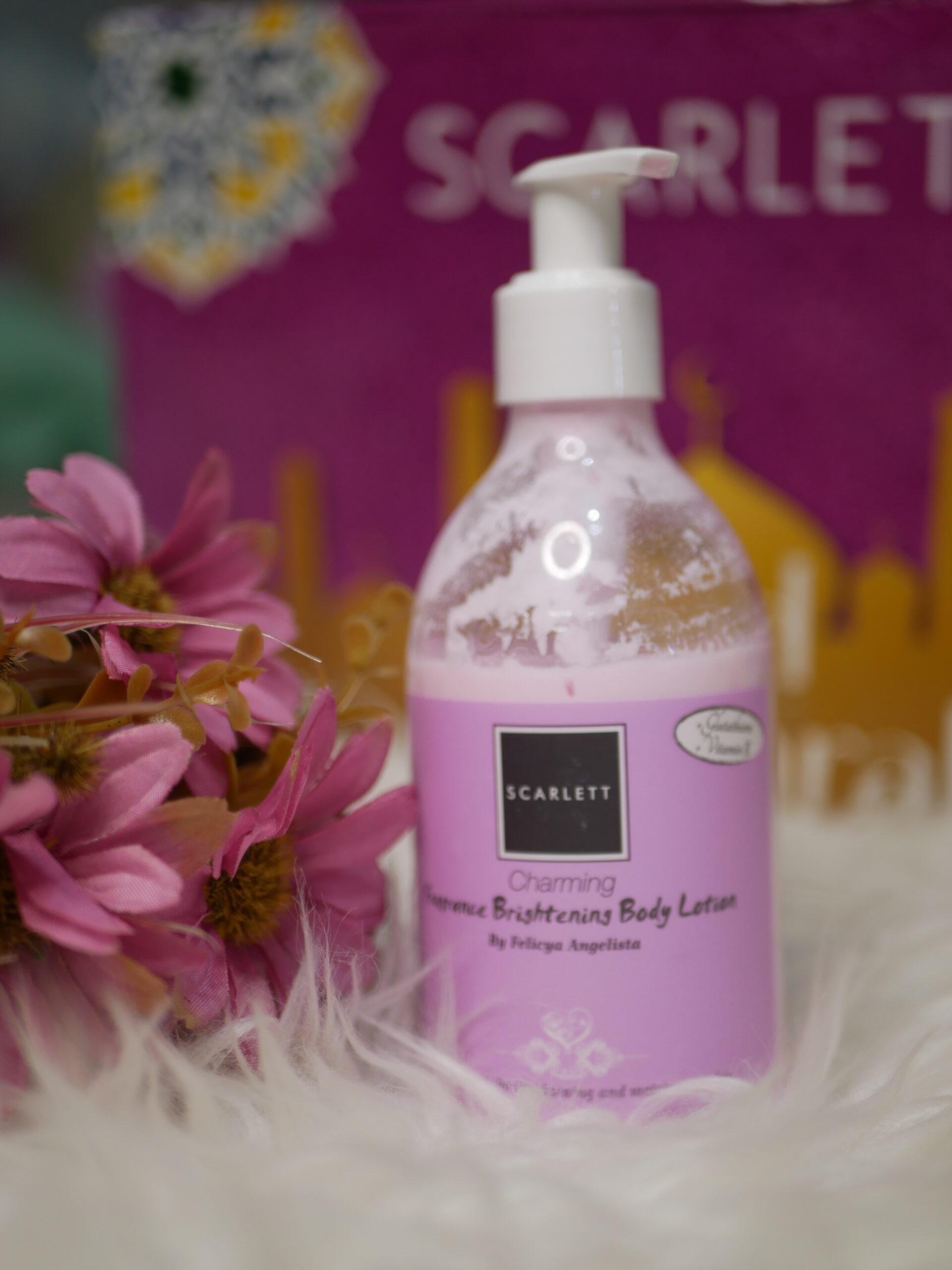 Scarlett Fragrance Brigthening Body Lotion (Charming)