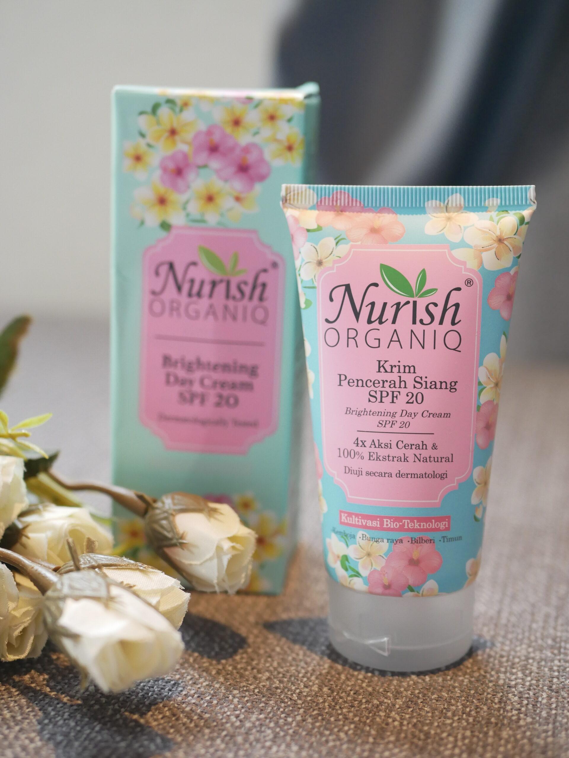 Nurish Organiq Brigthening Day Cream